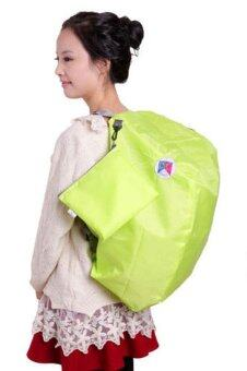 Harga Korean Made 3-Way Foldable Bag - Green