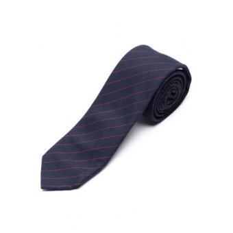 Harga Eight Needles | Brit Stripe Red and Blue Cotton Tie