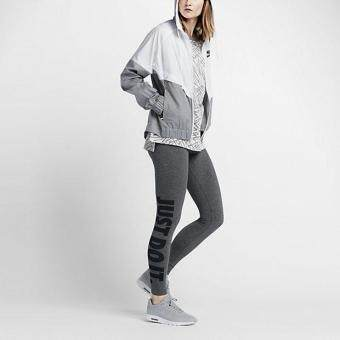 Harga NIKE WOMEN LEG-A-SEE JUST DO IT LEGGING CARBON HEATHER 726086-092 S-XL 01'