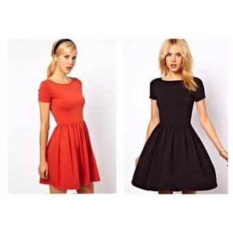 Harga Kate Midi dress (black)
