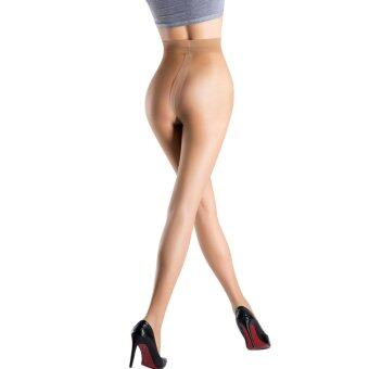 Harga BONAS Women Panty Hose Stretchy Tights Sheer to Waist Control Top Silk Stockings 9D, Nude