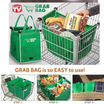 Harga Grab and GO Easy Carry Recycle/Reusable Shopping Supermarket Bag
