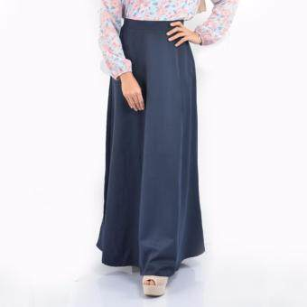 Harga Haniya Flared A Line Skirt ( Dark Blue)