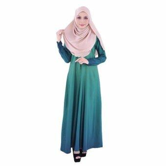 Harga Aalia Donna by Gulatis Ladies Jubah Ardani Emerald Green/Teal