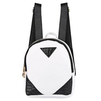 Harga Chic Color Block Backpack for Women