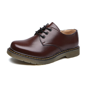 Harga Lechgo Unisex Men Martin Boots Lovers Casual Shoes JW125 (Brown)