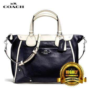 Harga Coach F37679 Mickie Satchel in Spectator Leather (Midnight Chalk)