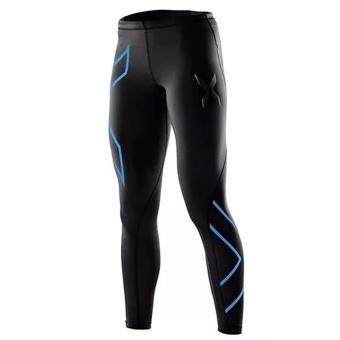 Harga Fancyqube fitness bicycle fitness pants compression woman Ladies Sweatpants Casual trousers Blue