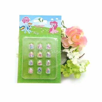 Harga Cutely Styles DIY Nail Art Decor for Kids - Little Pony (3 sets)