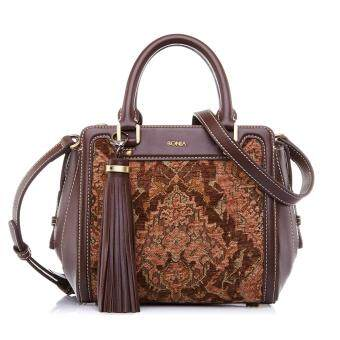 Harga Bonia Brown Guilietta Satchel S