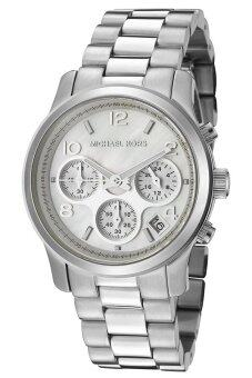 Harga Michael Kors Women's Silver Stainless Steel Band Watch Mk5304