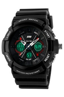 Harga SKMEI 0966 Sports Watch Army Military (Black)