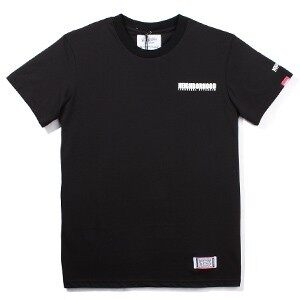Harga 2014 of the new neighborhood shawn japanese on the west coast in the SUMMER of cotton SHORT SLEEVE t-shirt men (Black)