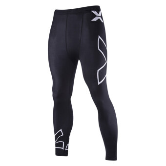 Harga EOZY Men's Outdoor Sports Pants Korean Style Male Gym Yoga Training Cycling Running Fitness Pants (Black)