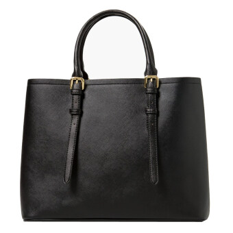 Harga Mango Casual Compartment Sling Tote Bag ( Black )
