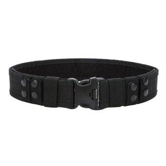 Harga Canvas Belt Adjustable Waist Belts(Black)