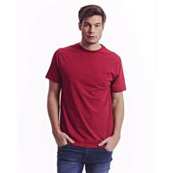 Harga Jazz & Co Men Short Sleeve Round Neck Solid Tee (Red)