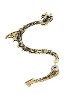 Harga Bluelans Game of Thrones Dragon Ear Cuff Stud Earring (Bronze)