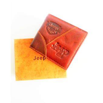 Harga Jeep® Leather Wallet (Dark Brown)