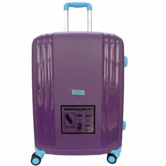 Harga Handry 20 inch Anti-Break PP Hard Case Trolley (Purple Blue)