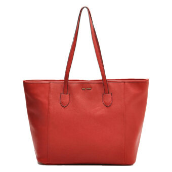 Harga Mango Saffiano Effect Shopper Bag ( Red )