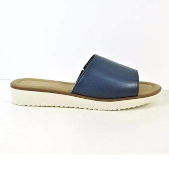Harga HUSH PUPPIES ABBY FLAT SANDALS BLUE