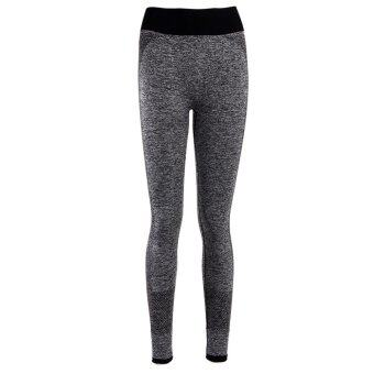 Harga Fitness Women Running Tights Pants Elastic Sports Pants YugaRunning Fitness