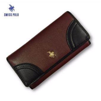 Harga Swiss Polo Wallet Clutch Bag (Coffee)