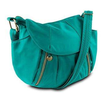 Harga Travelon Anti-Theft Front Zip Hobo Bag with RFID Protection, Jade