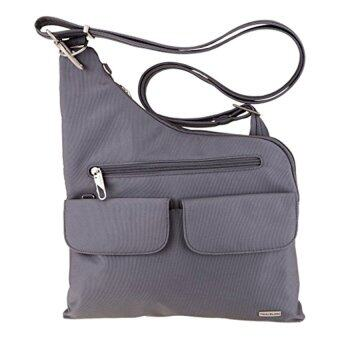 Harga Travelon Anti-Theft Cross-Body Bag (Pewter)