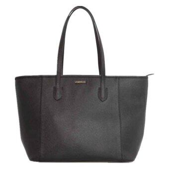 Harga Mango Saffiano Effect Shopper Bag ( Black )