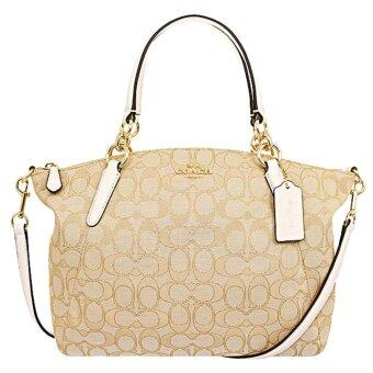 Harga Coach Small Kelsey Satchel in Outline Signature