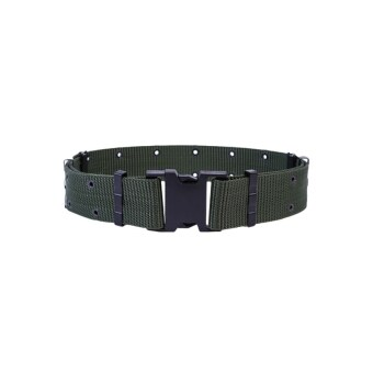 Harga Police Military Training Belt Tactical Adjustable Waist Belts(Army Green)