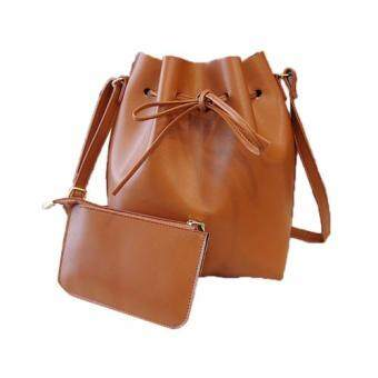Harga Polly Molly Trendy 2in1 Bucket Bag_Brown