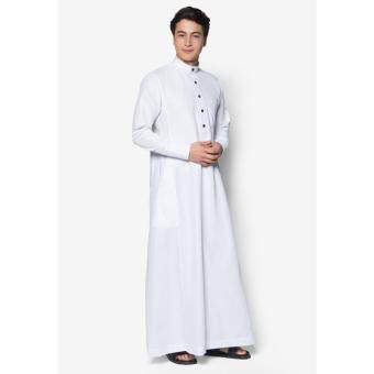 Harga Jubah A Slim Fit (White)