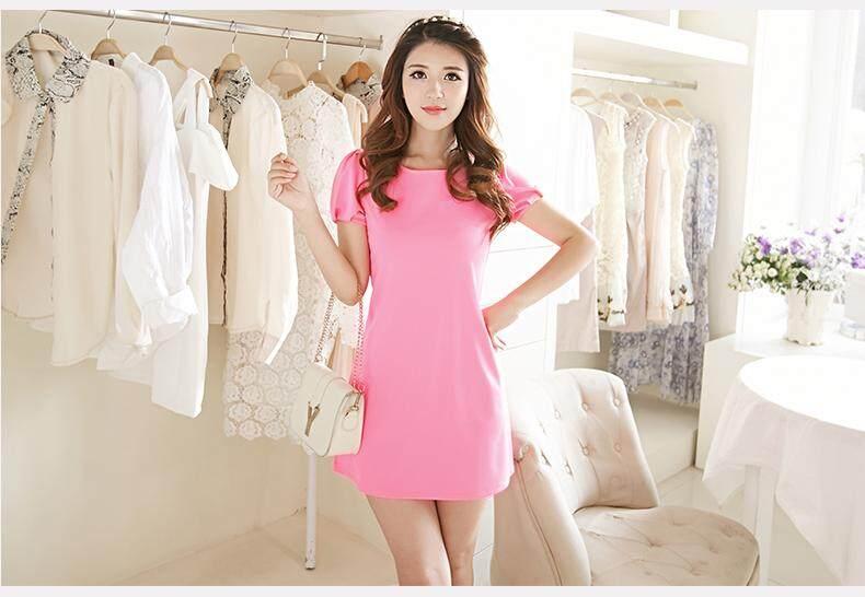 (Pre Order ETA 14/2) JYS Fashion: BUDGET & IMPRESS Korean Style Top / Dress Collection 79 9341-Pink