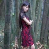 (Pre Order ETA 14/2) JYS Fashion : Cheongsam Midi Dress Collection 56 4730-Red