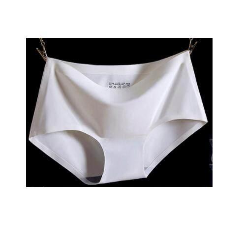 (Pre Order ETA 14/2) JYS Fashion : Ice Silk Panties (Set of 4 Pieces) 20987 - White