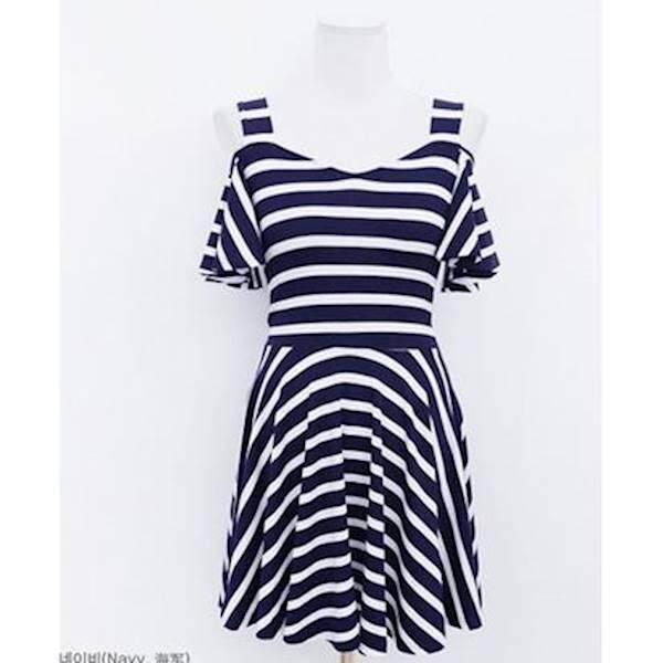 (Pre Order ETA 14/2) JYS Fashion : Korea Style Off Shoulder Midi Dress