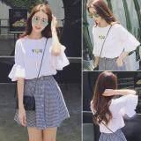 (Pre Order ETA 14/2) JYS Fashion: Korean OVERSIZE Style Top and Dress Collection 86  2137-White