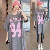 (Pre Order ETA 14/2) JYS Fashion: Korean OVERSIZE Style Top and Dress Collection 86  2504-Grey