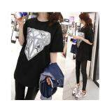 (Pre Order ETA 14/2) JYS Fashion: Korean OVERSIZE Style Top and Dress Collection 86  3002-Black