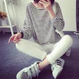 (Pre Order ETA 14/2) JYS Fashion: Korean OVERSIZE Style Top and Dress Collection 86  3800-Stripe
