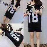 (Pre Order ETA 14/2) JYS Fashion: Korean OVERSIZE Style Top and Dress Collection 86  4222-Black