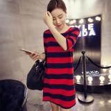 (Pre Order ETA 14/2) JYS Fashion: Korean OVERSIZE Style Top and Dress Collection 86  5796-Stripe