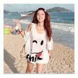 (Pre Order ETA 14/2) JYS Fashion: Korean OVERSIZE Style Top and Dress Collection 86  7590-White