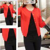 (Pre Order ETA 14/2) JYS Fashion Korean Style Knit Cardigan Collection 190-7783-Red