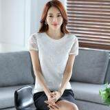 (Pre Order ETA 14/2) JYS Fashion: Korean Style Lace, Chiffon, Off Shoulder Top Collection 89  184-White