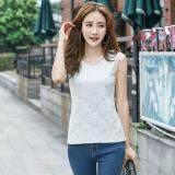 (Pre Order ETA 14/2) JYS Fashion: Korean Style Lace, Chiffon, Off Shoulder Top Collection 89  4679-White