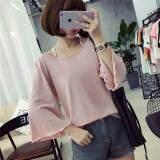 (Pre Order ETA 14/2) JYS Fashion: Korean Style Lace, Chiffon, Off Shoulder Top Collection 89  8698-Pink